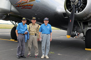 B-17 Flight Madison- July 2019